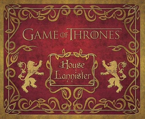 Book cover from Game of Thrones: House Lannister Deluxe Stationery Set (Insights Deluxe Stationery Sets) by HBO