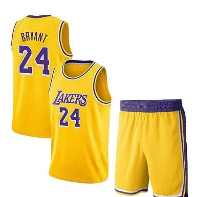 Kobe Bryant # 24 Camiseta De Baloncesto De Los Hombres - NBA ...