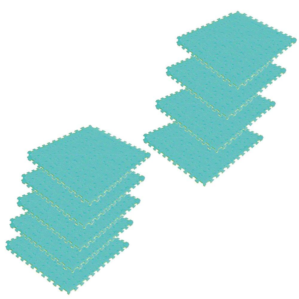 ボディメーカー(BODYMAKER) B016K4DD5S リバーシブルジョイントマット2.0 100×100×2cm イエロー×グリーン 9枚 B016K4DD5S, DIY+:9ac507e7 --- capela.dominiotemporario.com