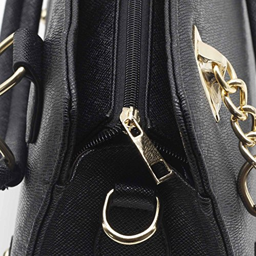 ZENTEII Faux Faux Black Synthetic Leather Handbag Women Women Synthetic ZENTEII wZ4qTpO