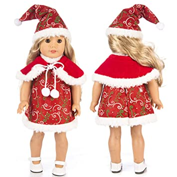 Image Unavailable. Image not available for. Color  Lywey Chirstmas Clothes  Dress Hat for 18 Inch American Boy Doll Accessory Girl Toy c3930e9ff6db