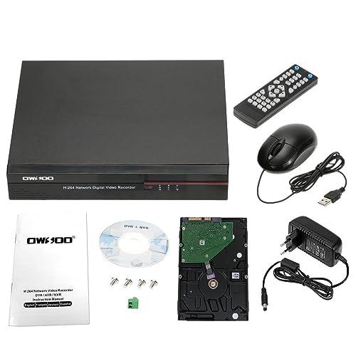 OWSOO 8 Voies 960H Enregistreur Vidéo Numérique H.264 HDMI P2P DVR CCTV + 1TB Disque Dur Système de Sécurité Support Audio Enregistrement Téléphone Contrôle Motion Detection Email Alarme