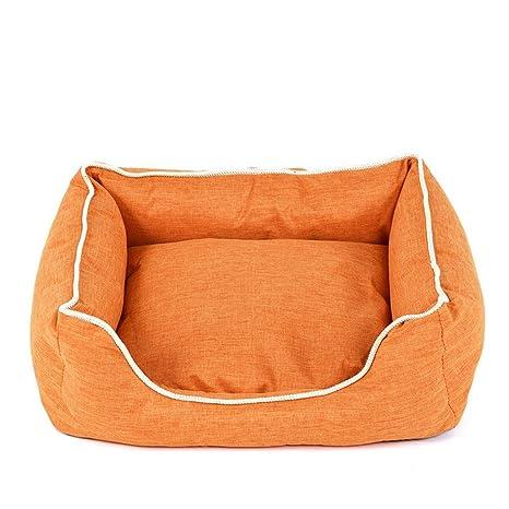 Wuwenw Camas para Perros Banco para Mascotas Perros Gatos Tumbona De Algodón Suave para Cachorros Casa