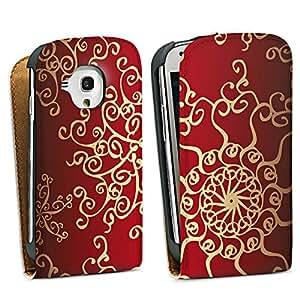 Diseño para Samsung Galaxy S3 Mini I8190 DesignTasche Downflip white - Oriental Curtain