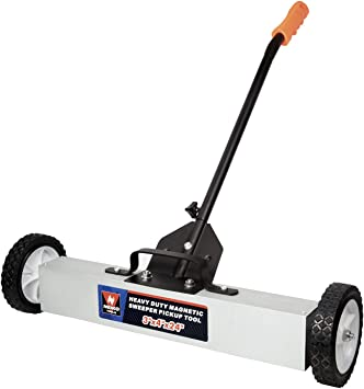 "30 LBS Cap 36/"" Magnetic Floor Sweeper Rolling Pick Up Tool"