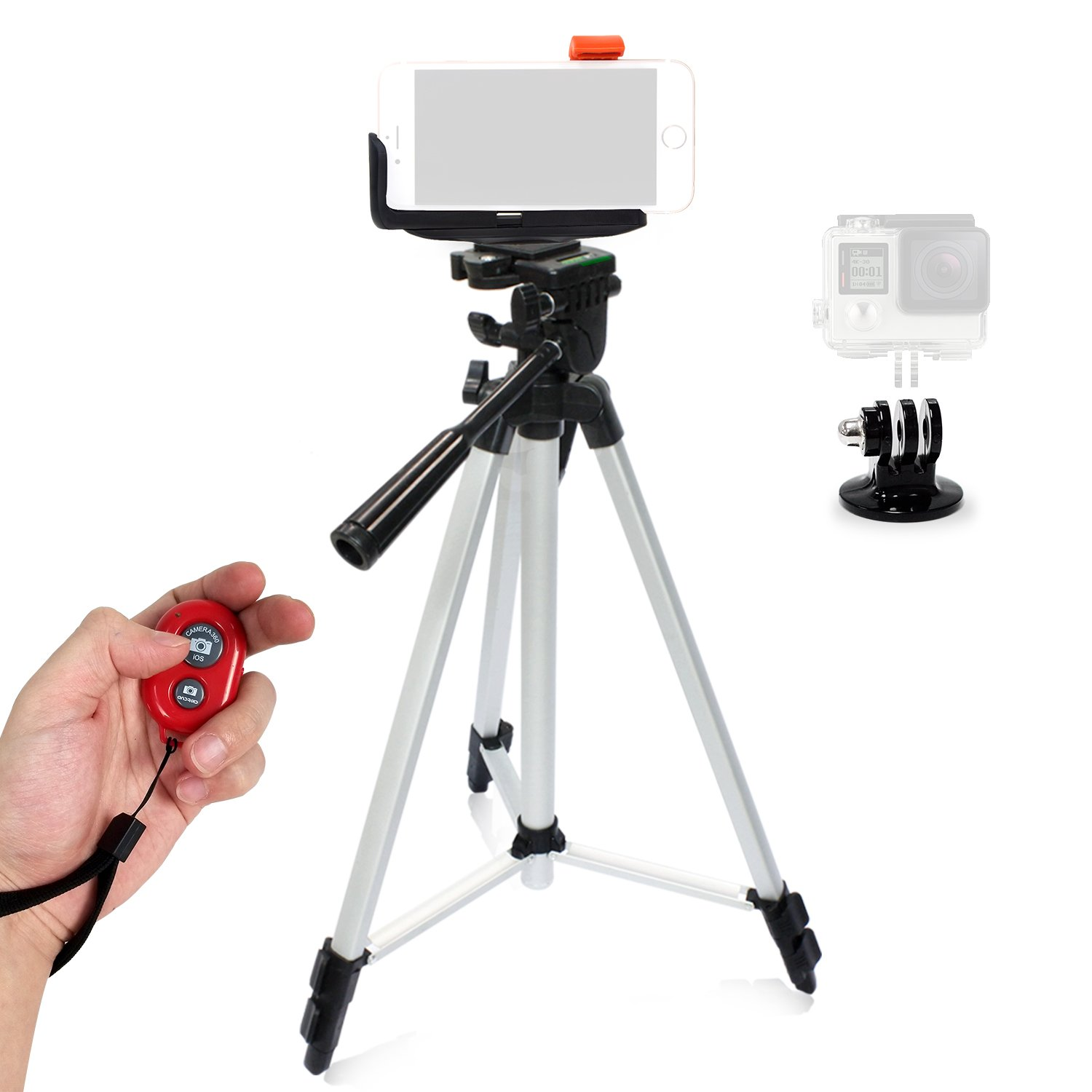 Powerfulline Pro Holder Quick Release Slide Plate Adapter System for Camera Tripod Ball Head