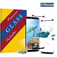 KellyIvy Galaxy S9 Panzerglas Schutzfolie, [2 Stück] Hochwertiger 3D temperierter Film/Anti-Kratzer/Bubble-frei/Einfaches Anbringen/Displayschutzfolie für Galaxy S9 (Galaxy S9)
