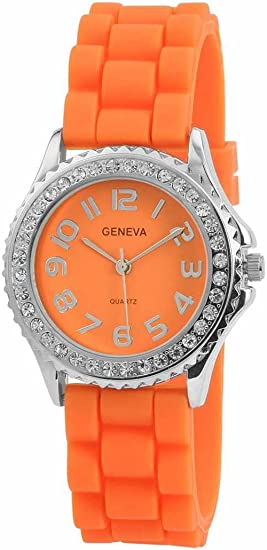Reloj - Geneva - Para - SHA-SYL-ARANCIO