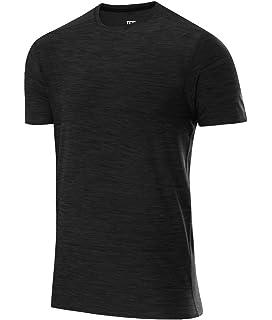 Clothing & Accessories Blue Superior Materials Tca Hazard Mens Short Sleeve Training Top Shirts