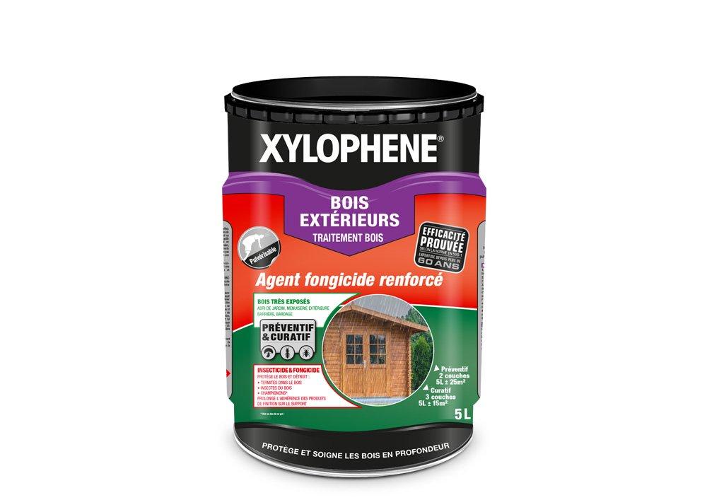 Traitement Bois Exté rieurs, Xylophene - Incolore, 5L PPG 343531