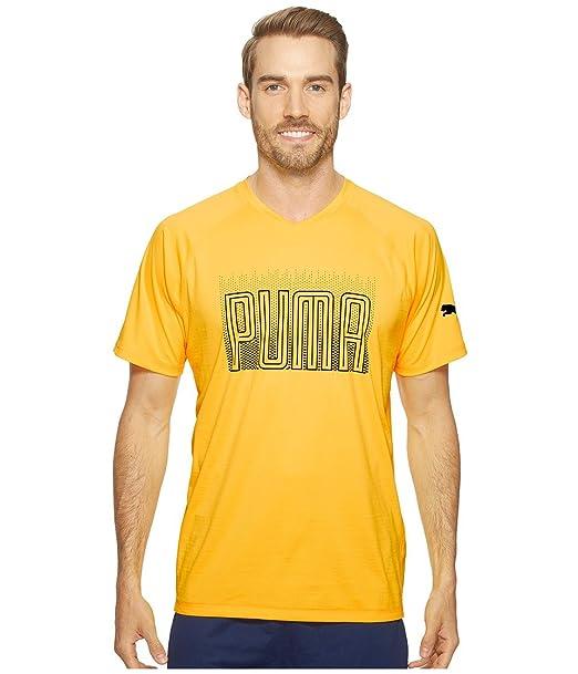 82920a24f Amazon.com: PUMA Men's Pwrcool Graphic Tee Ultra Yellow Medium ...