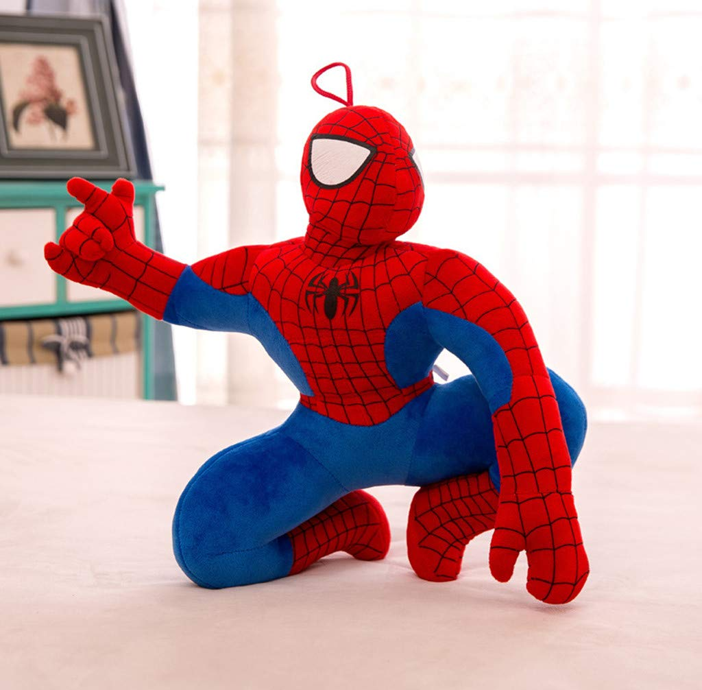 Cartoon Anime Spiderman Plush Toy Large Sleeping Pillow Doll Doll Doll (Standing 2,120cm) by hanbing