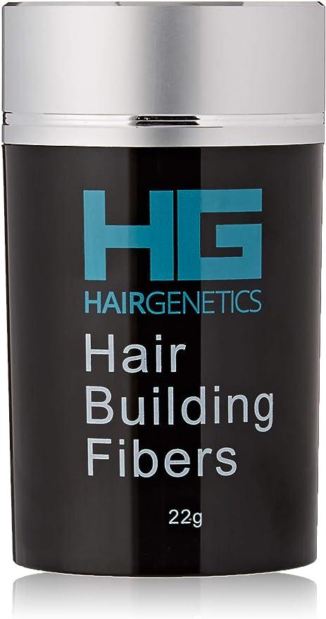 Hair Genetics® Fibras Capilares de Queratina para Cabello - Fórmula Avanzada Cero Picores de Calidad Profesional y Aspecto Natural para Hombres y Mujeres Dispensador 22 g (Castaño Medio): Amazon.es: Belleza