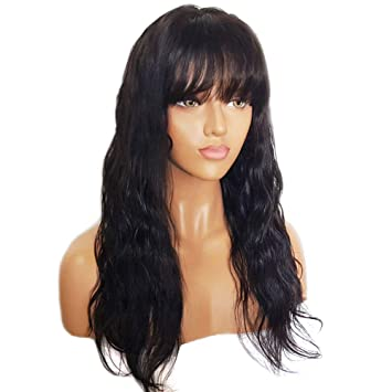 Amazon.com : Full Lace Human Hair Wigs with