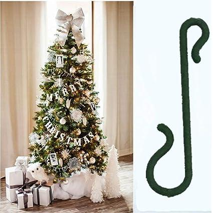 Unetox Christmas Tree Ornament Mini Hooks Xmas Decor Hangers Reusable  Plastic Christmas Ornament Hooks (100 - Amazon.com: Unetox Christmas Tree Ornament Mini Hooks Xmas Decor