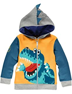 c765037ae119 KKia Baby Boys Girls Coats Jackets Cartoon Dinosaur Zipper Costume ...