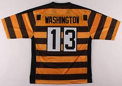 James Washington #13 Signed Pittsburgh Steelers Jersey (Washington ...