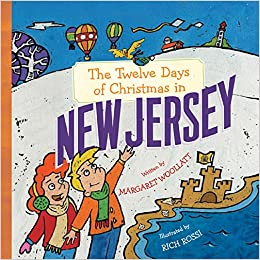 the twelve days of christmas in new jersey the twelve days of christmas in america margaret woollatt rich rossi 9781402738166 amazoncom books