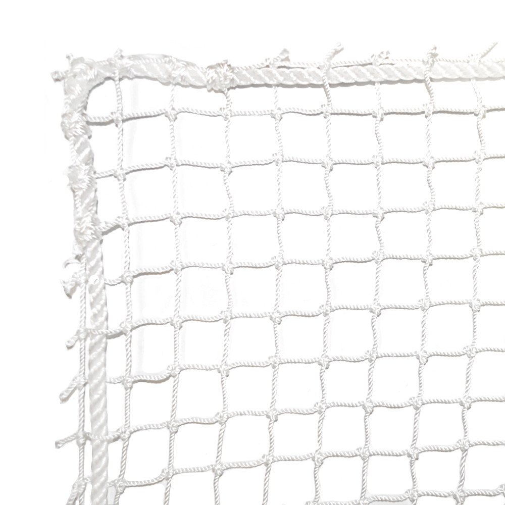Dynamax Sports High Impact Golf Barrier Net, White, 10X10-ft