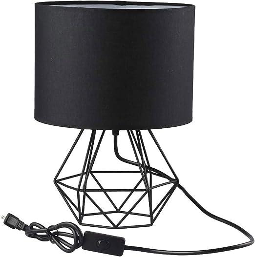 Lámpara de mesa moderna del dormitorio - Mesita de noche ...
