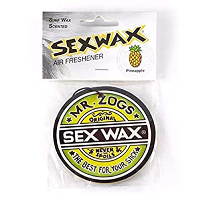 Sex Wax Car Air Freshener Pineapple Scent: Automotive
