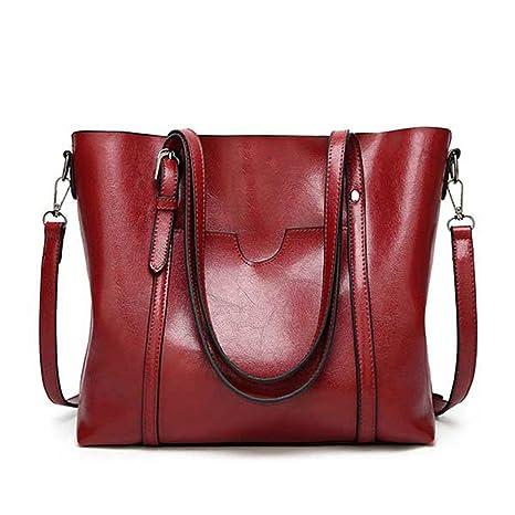 a0e5dc658e88 Amazon.com: UOXMDNJC Women Bag Women's Leather Handbags Lady Hand ...