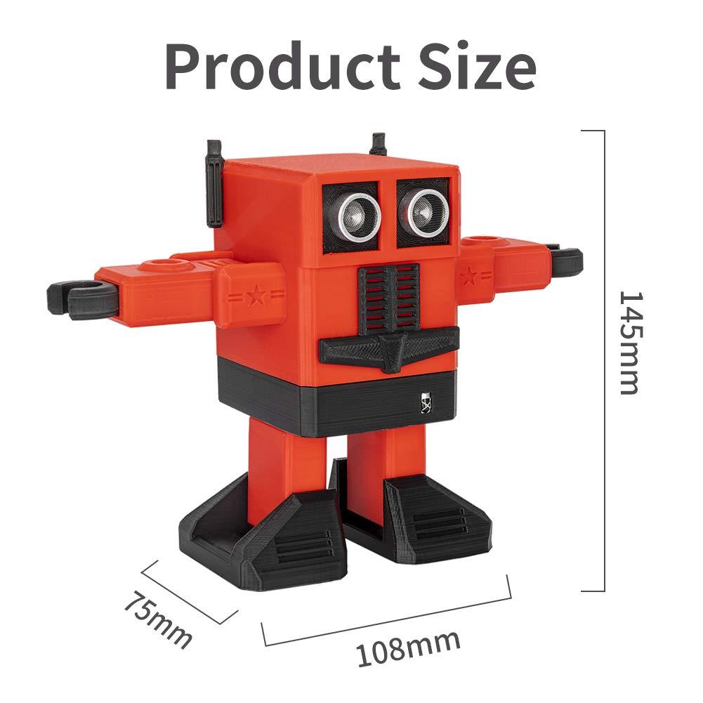 Blau Creality 3D DIY Intelligenter Roboter Ferngesteuerter Tanzen Roboter f/ür Kinder Spielzeug Geschenk
