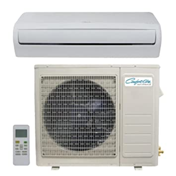 Comfort Aire DVC24SD 24,000 BTU Ductless Single Zone Mini Split Air  Conditioner