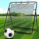 Porte-Rete-da-Calcio-di-Allenamento-Rebounder-Calcio-Regolabile-a-Rimbalzo-Rapido-per-Esercitarsi-con-Bambini-e-Ragazzi-Giocare-nel-Parco-Giochi-Palla