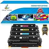 True Image 4Pack Compatible HP 410X Toner 410A CF410X CF410A CF411X CF412X CF413X for HP Color LaserJet Pro MFP M477fdn M477fnw M477fdw M477 M452nw M452dn M452dw M452 M377dw(Black,Cyan,Magenta,Yellow)
