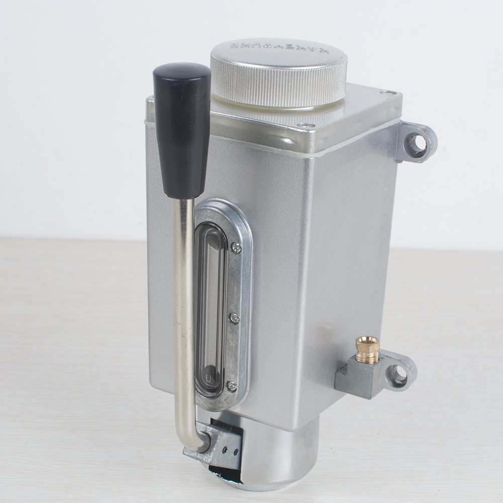 Vinmax Lubrication Systems Oil Pump Hand Pump Lubricator Lubricating Oil Pump for Manual Milling Machine Punching Equipment (Shipping from US 3-5 days)