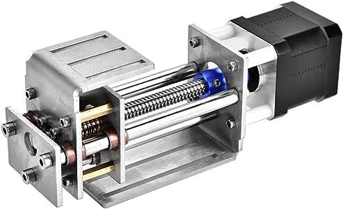 Mesa deslizante CNC, deslizamiento de ejes Z 60MM Fresa DIY Carril de guía de movimiento lineal para máquina de grabado CNC para carpintería: Amazon.es: Bricolaje y herramientas