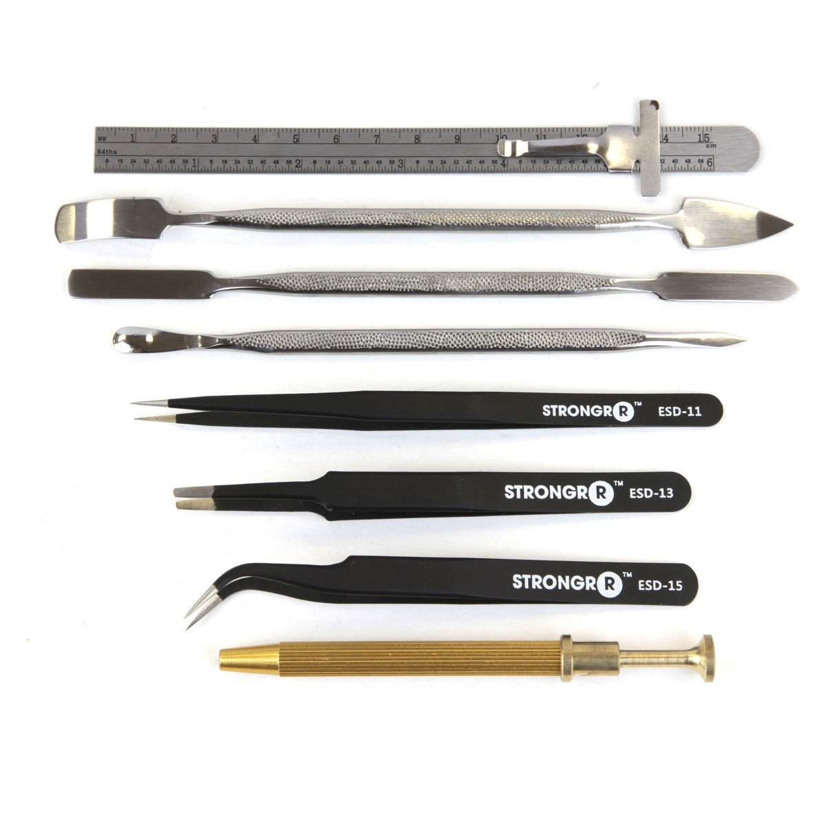 Professional Tool Kit Electronic Technician Repair Tool Set for Computers, PC, Laptops, TVs, Radios and other Electronic Devices by Strongrr (Image #4)