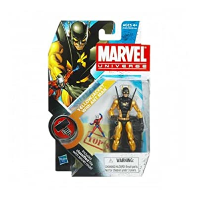 Marvel Universe Yellow Jacket with Ant Man 3-3/4 Inch Scale Action Figure: Toys & Games