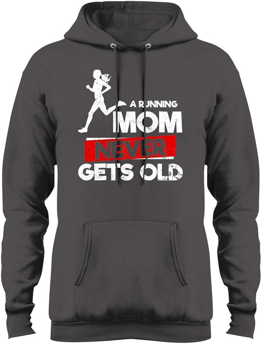 goldbabytee a Running mom Never gets Old Tshirt Hoodie