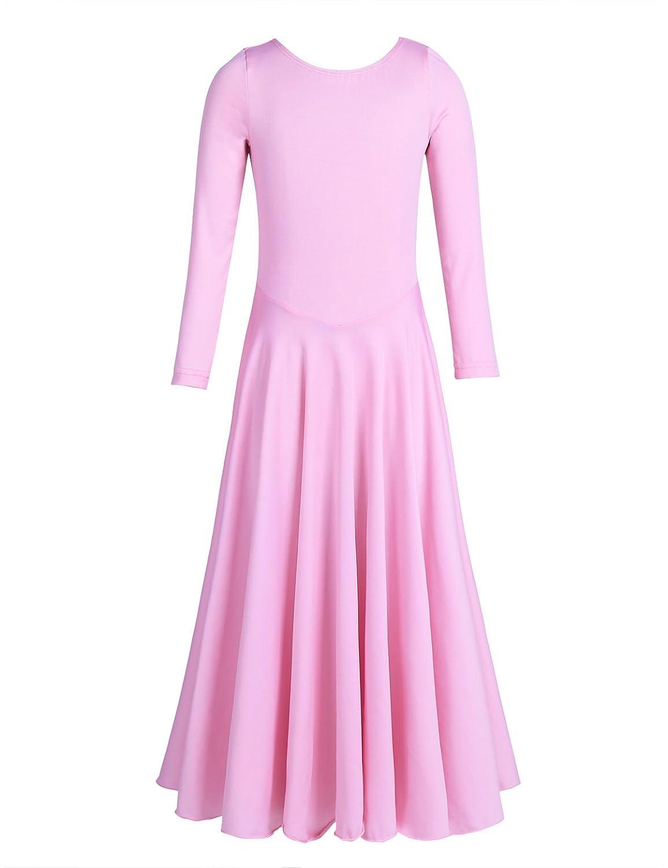 CHICTRY DRESS ガールズ B077YMW83M ピンク 10