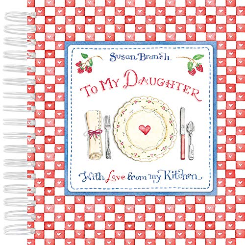 Recipe Keepsake Book - To My Daughter: With Love from My Kitchen (Red)