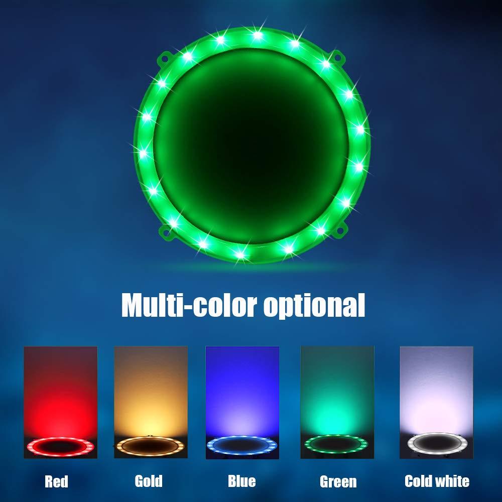 Blinngo Cornhole LED Board Lights, LED Cornhole Lights Meet Regulation Cornhole Boards(4 feet x 2 feet), Waterproof Cornhole LED Lights (Two Set)-Green by Blinngo
