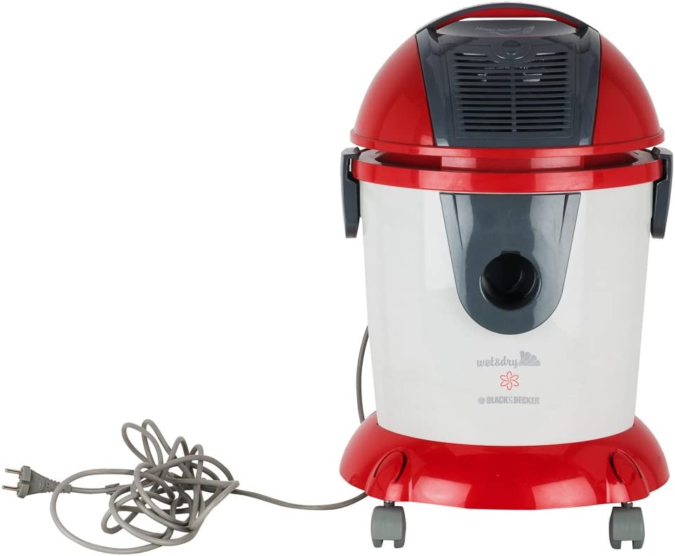 Black & Decker WV1400 1400W Wet & Dry Vacuum Cleaner 220 Volts for Use Overseas Only