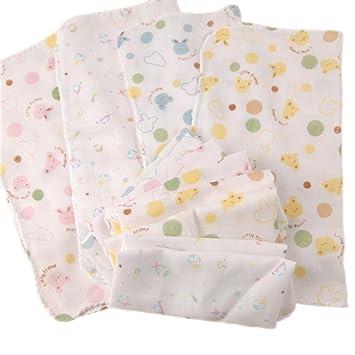 30 x 30 cm cuadrado 10 pcs gasa algodón bebé recién nacido bebé baberos alimentación Enfermería