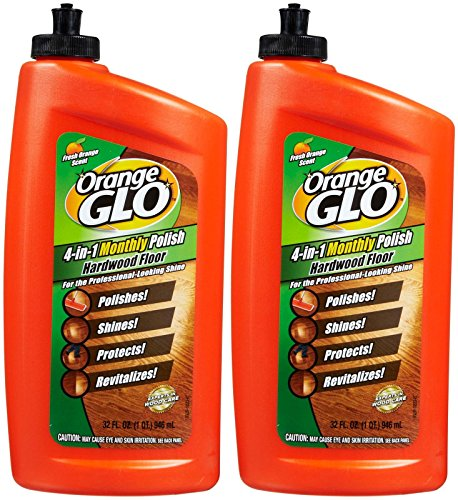 Orange Glo Polish Cleaner - Orange Glo 4-in-1 Monthly Hardwood Floor Polish - Orange - 32 oz - 2 pk
