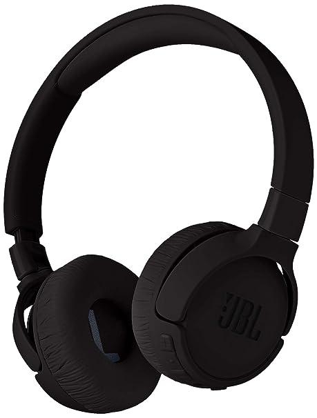 JBL Tune 600 - Auriculares in-Ear inalámbricos con cancelación de Ruido, Color Negro