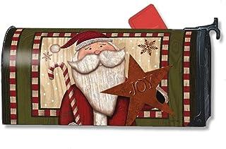 Mailwraps Babbo Natale con stella Mailwrap Mailbox cover 00126 Studio M