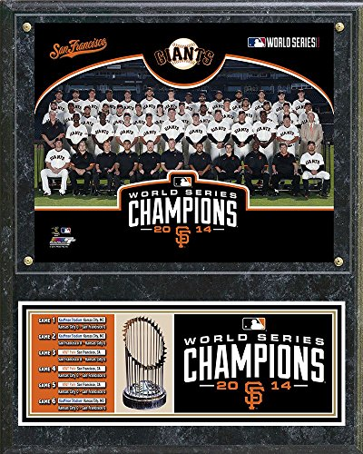 MLB San Francisco Giants 2014 World Series Champions Team Photo Plaque by Photo File, 12 x 15-Inch