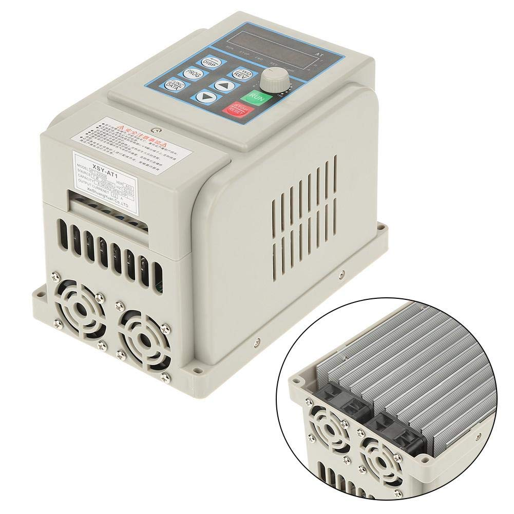VFD 220V, Single-Phase Variable Frequency Drive,Low Noise Electromagnetic Interference,for 3-Phase 2.2KW AC Motor by Thincol (Image #5)