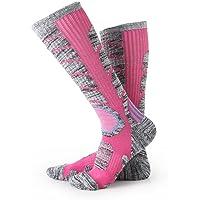 Calcetines para mujer de esquí de botas, escalada al aire libre Snowboard, medias de algodón para deportes de invierno…