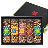 Gift Colo waffle set of 5 1 box (five assortment) cookies (plain maple Chocolat Strawberry)