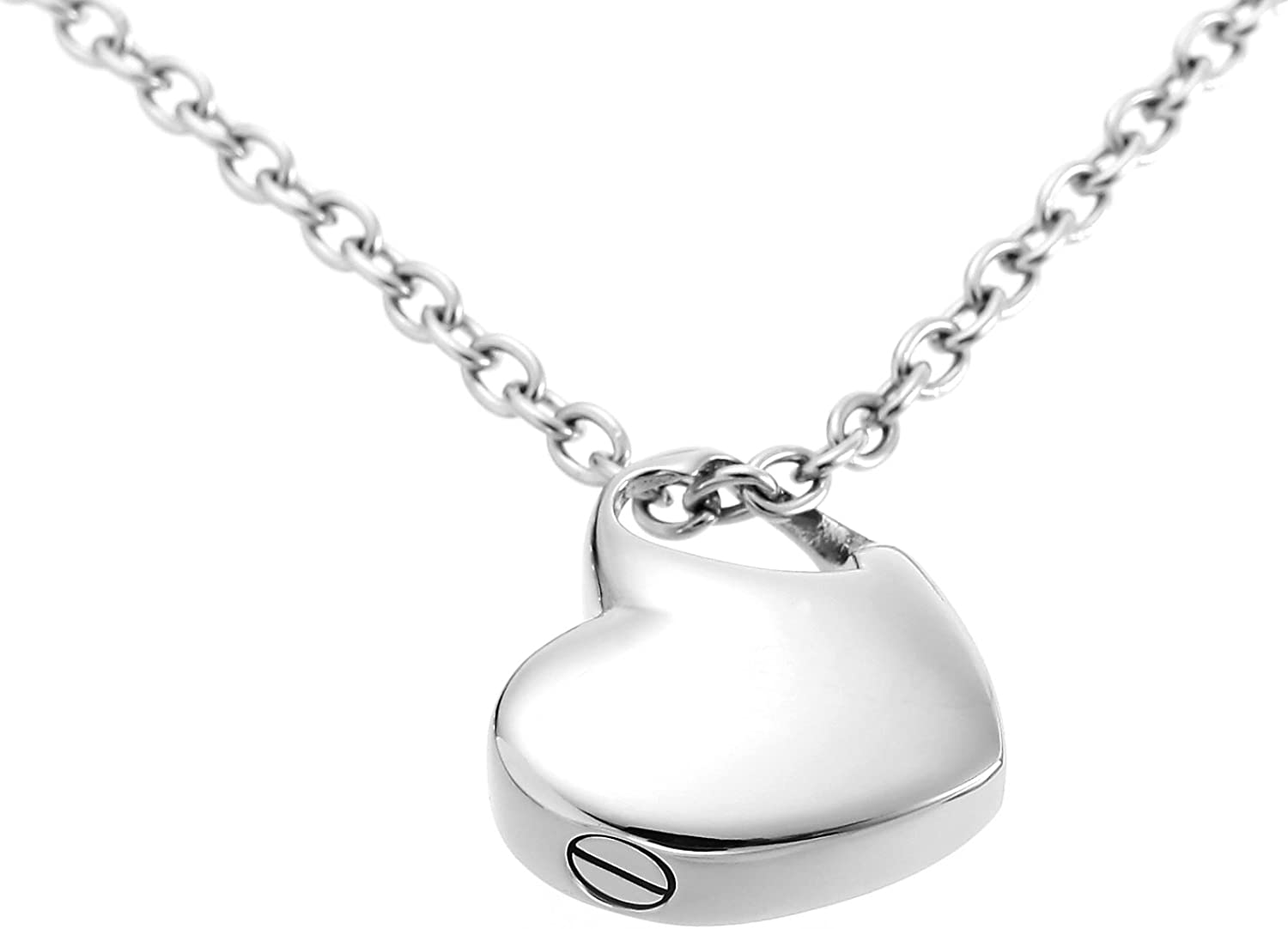 Amazon Com Hold My Heart Pendant Cremation Urn Jewelry Necklace With Filler Kit Ashes Jewelry