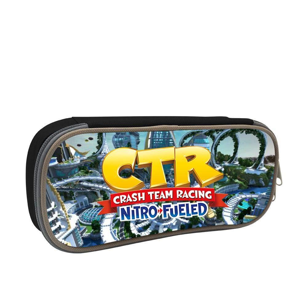 Crash Team Racing Nitro - Estuche con cremallera doble para ...