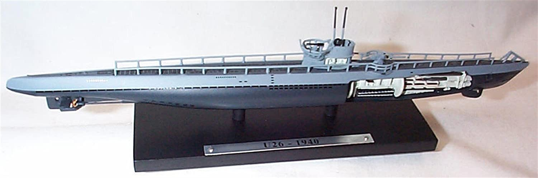 atlas editions submarines world war 2 WW11 U26 1940 submarine 1:350 scale diecast model